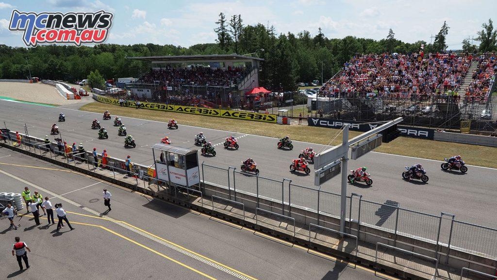 WorldSBK Race 2 at Brno