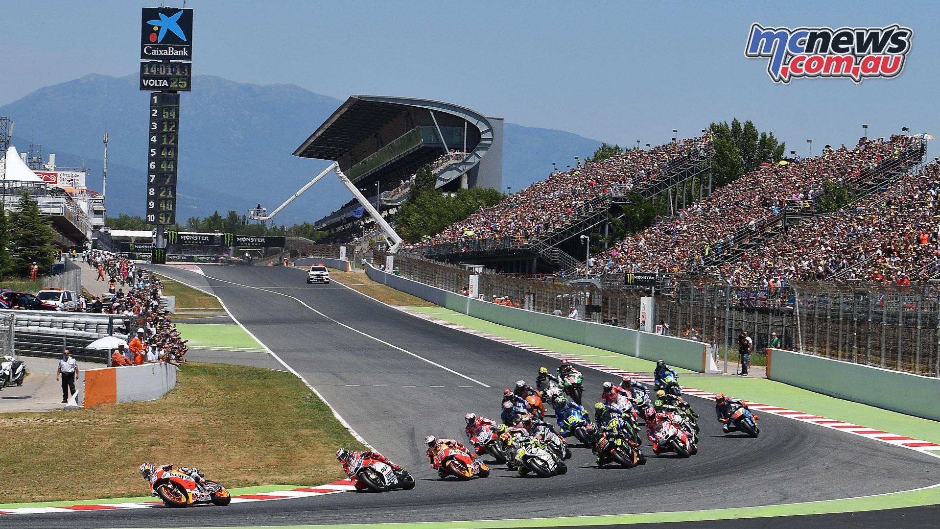 motogp heads to circuit de barcelona catalunya
