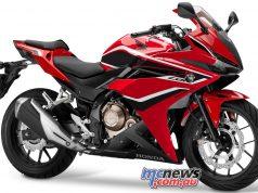 CBRR Grand Prix Red Black Stripe