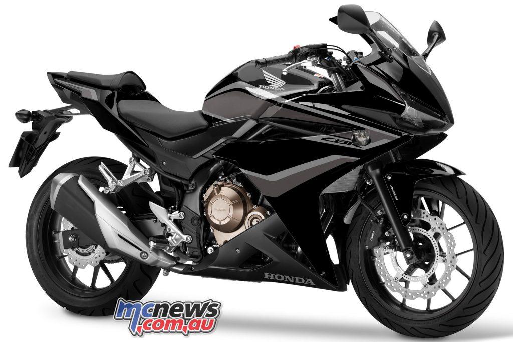 CBRR Graphite Black Silver Stripe