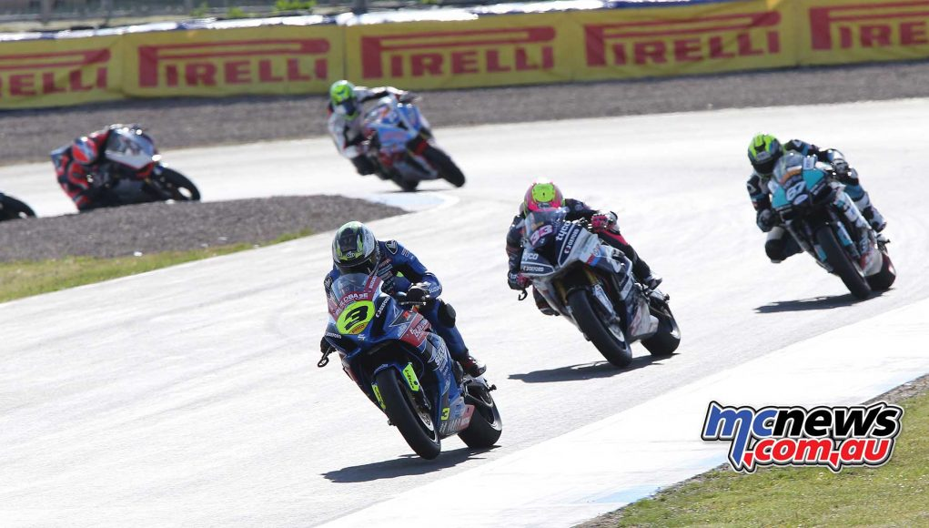 BSB RNd Knockhill McConnell leads early on ImageDYeomans