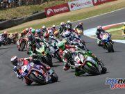 BSB RNd Knockhill Superbike Race Start ImageDYeomans