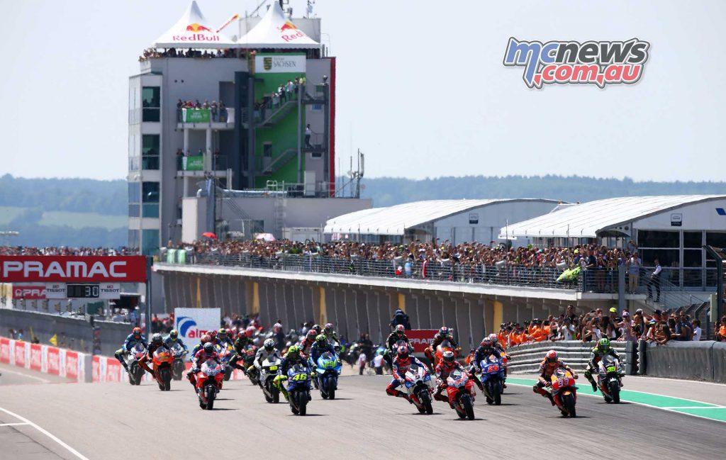 MotoGP Sachsenring GP start GP AN