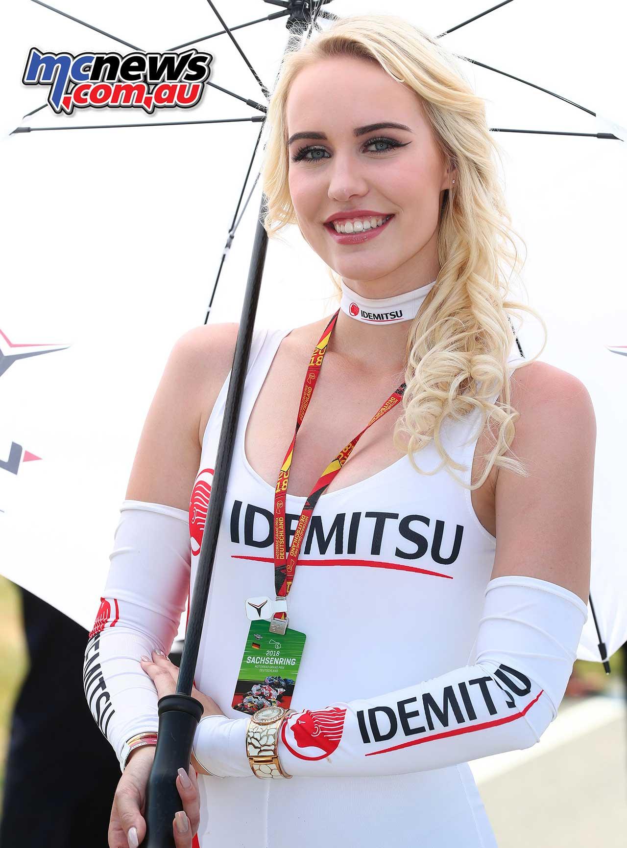 MotoGP Grid Girl Pictures: Sachsenring 2012   Visordown