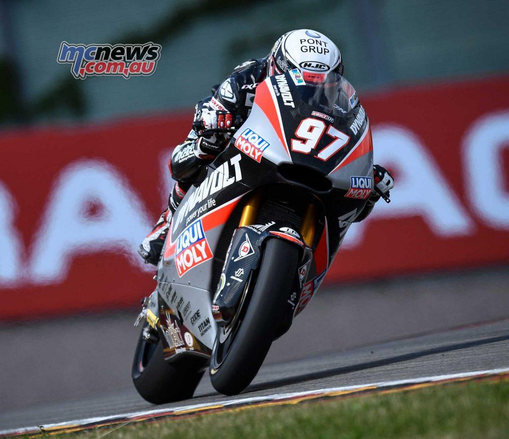 MotoGP Sachsenring Moto Xavi Vierge