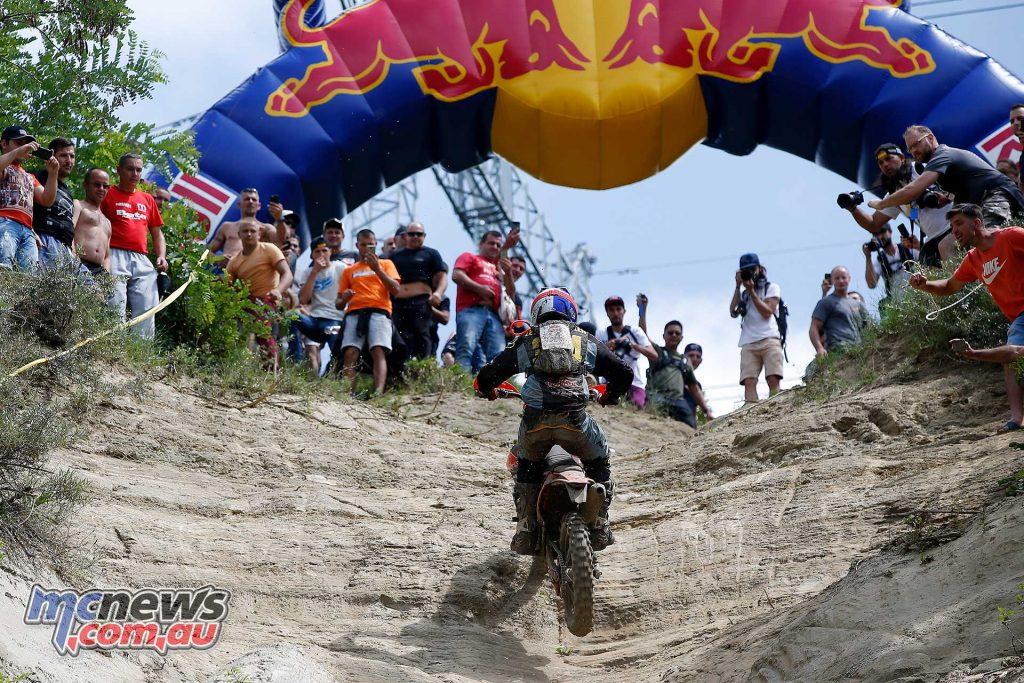 Red Bull Romaniacs Finish Manuel Lettenbichler