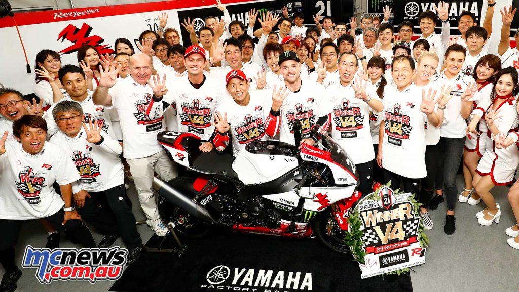 Suzuka Hour Yamaha Winners