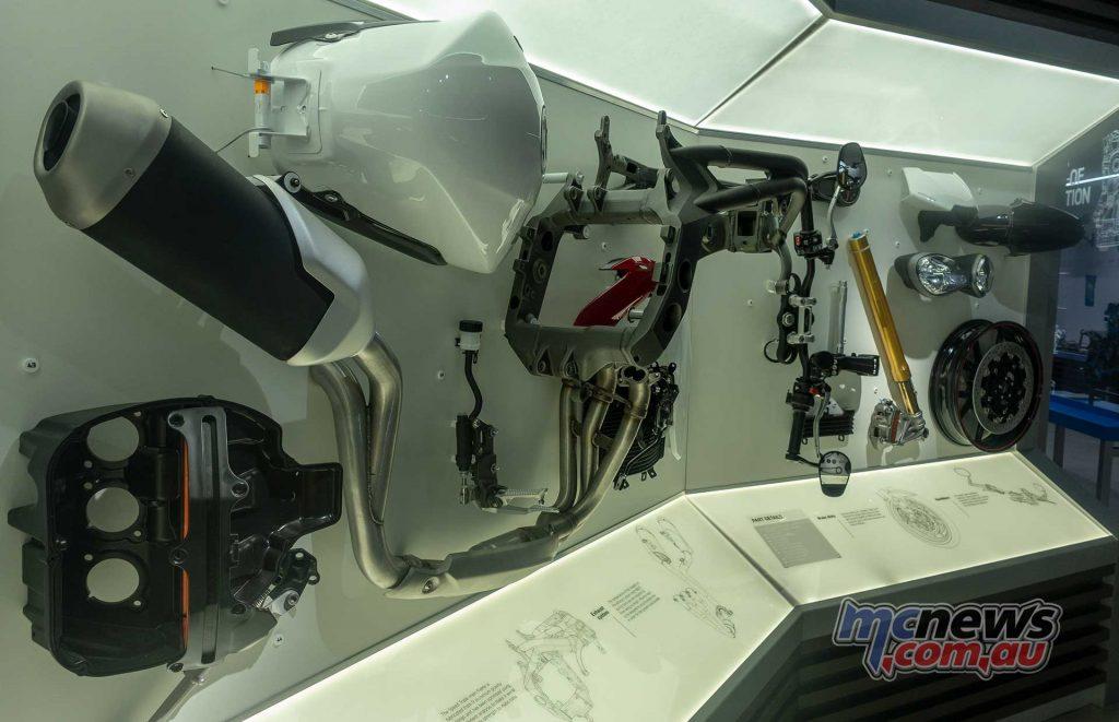 Triumph Factory Experience Parts
