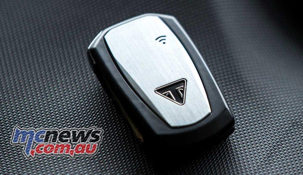 Triumph Speed Triple RS Key