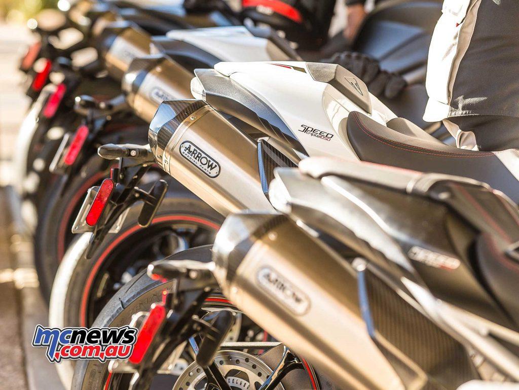 Triumph Speed Triple RS Muffler