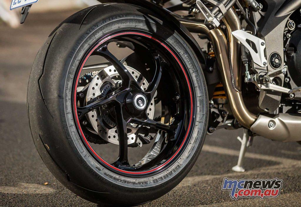 Triumph Speed Triple RS Rim