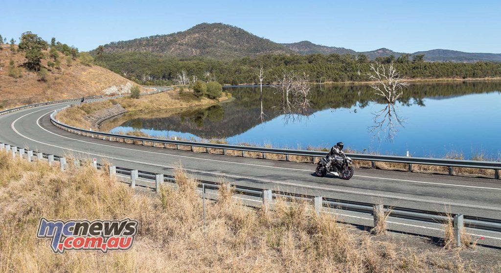 Triumph Speed Triple RS Scene