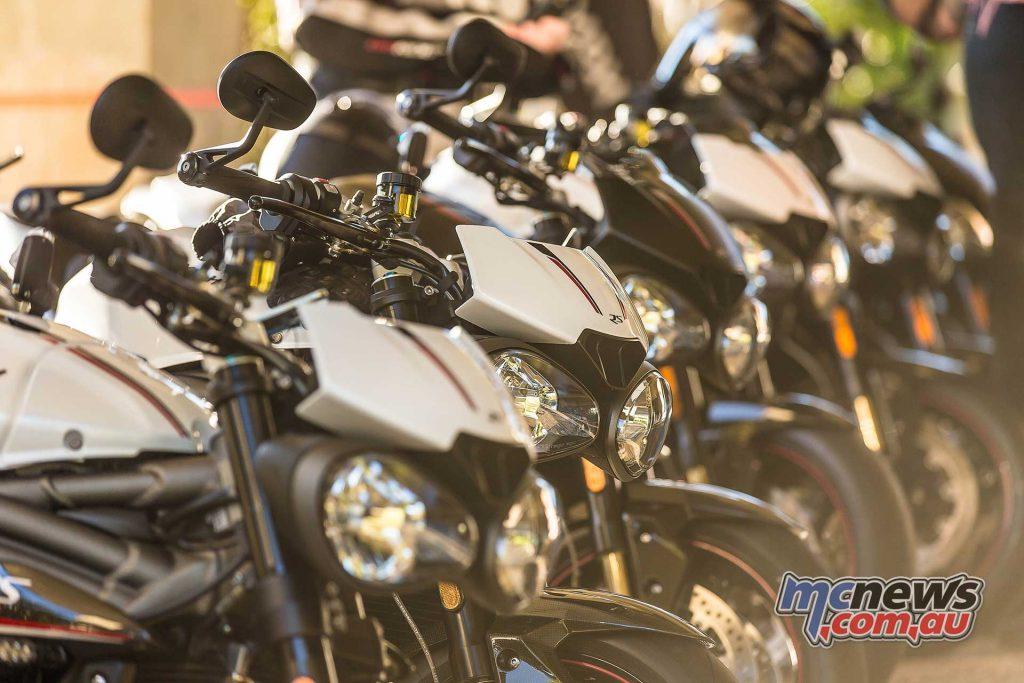 Triumph Speed Triple RS Screen