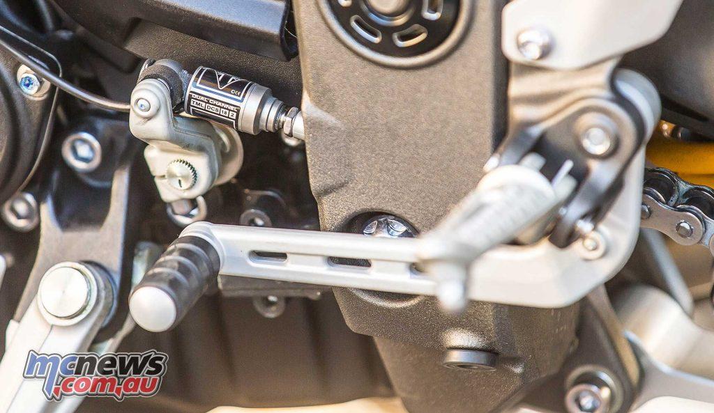 Triumph Speed Triple RS Shift
