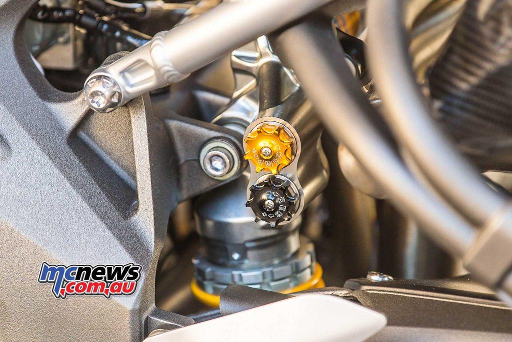 Triumph Speed Triple RS Shock