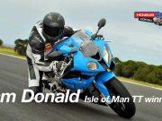 BMW RR Experience Cam Donald
