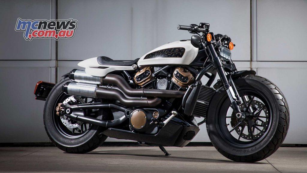 Harley Davidson New Roads Custom