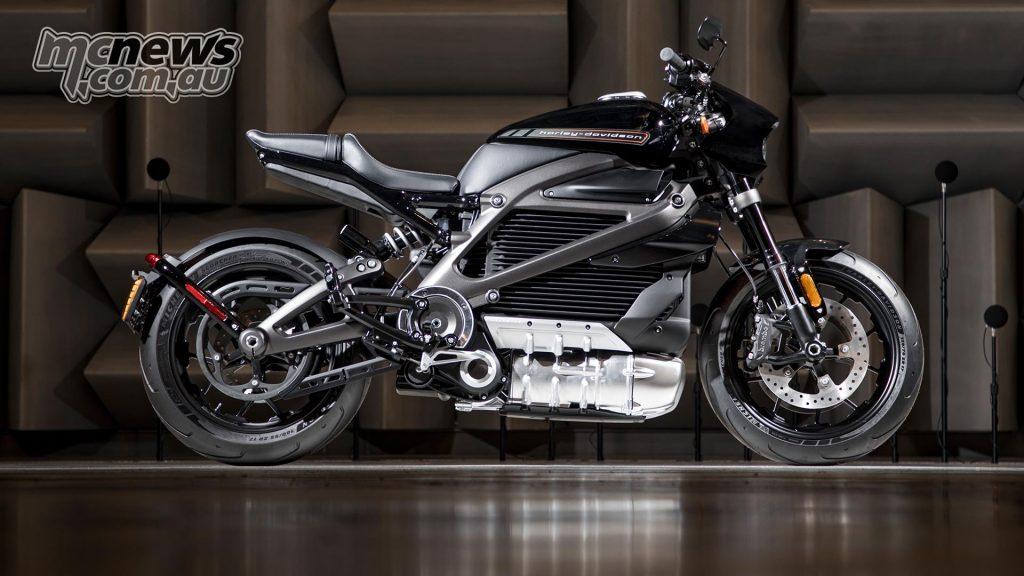 Harley Davidson New Roads LiveWire