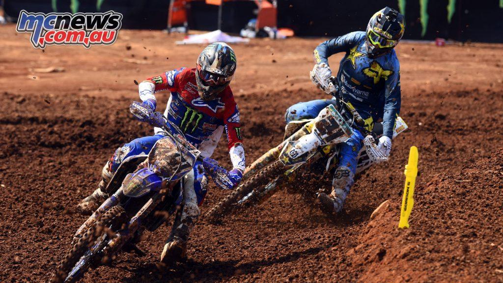 MXGP Indonesia MX Febvre Paulin action