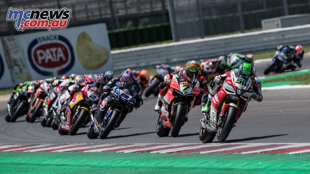 WorldSBK Rnd Misano Eugene Laverty