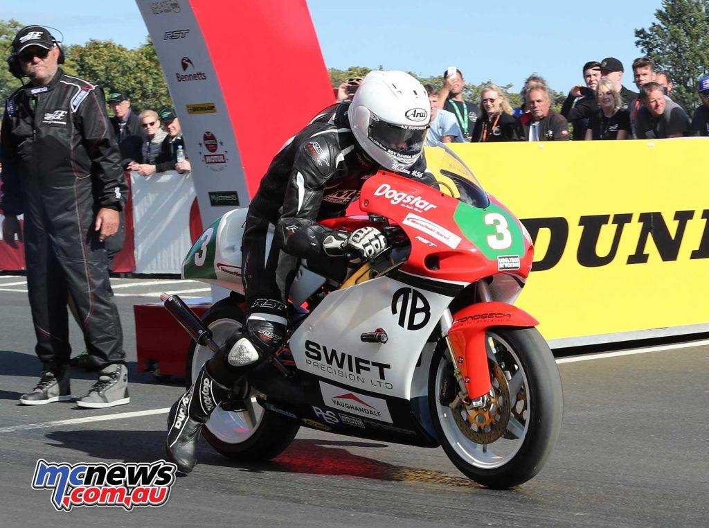 Classic TT Lightweight Adam McLean TZ Yamaha