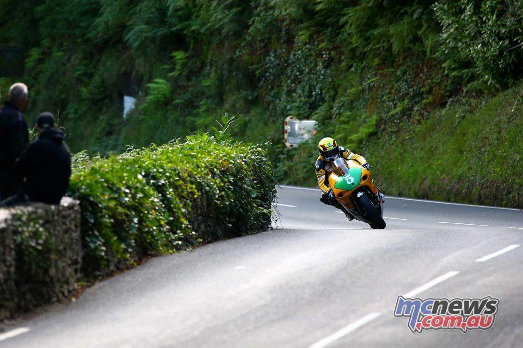 Classic TT Lightweight Ian Lougher Yamaha Front