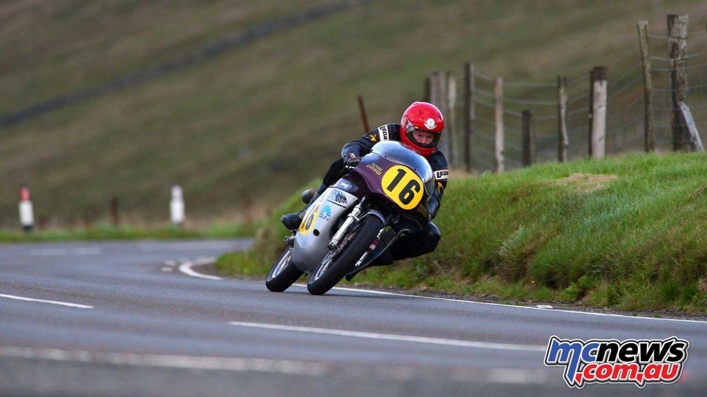 Classic TT Practice Chris Swallow Royal Enfield