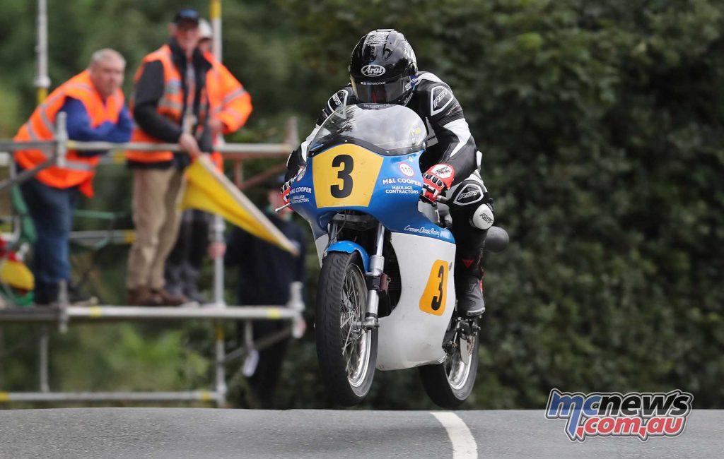 Classic TT Practice Jamie Coward Norton