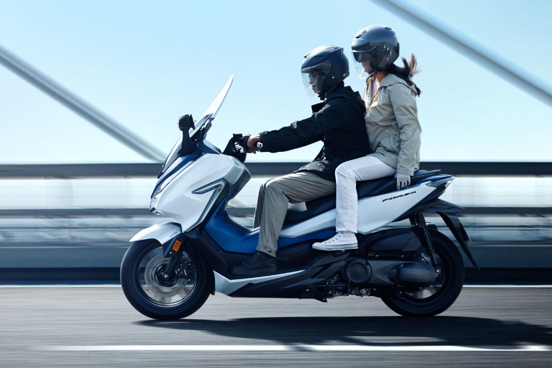 Honda Forza 300 2019 >> Honda's Forza NSS300 Scooter gains HSTC | MCNews.com.au
