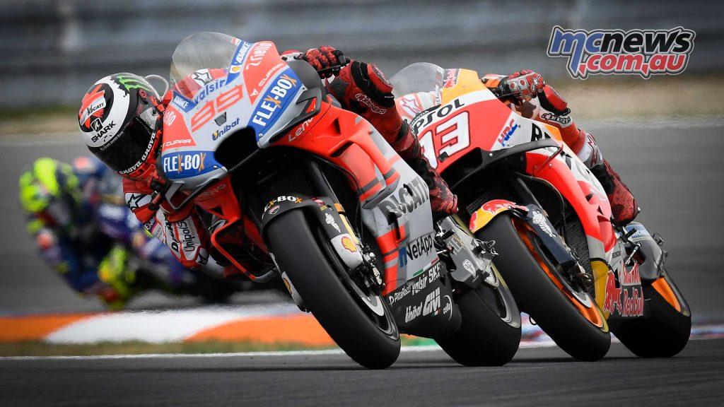 MotoGP Brno Rnd Lorenzo Marquez
