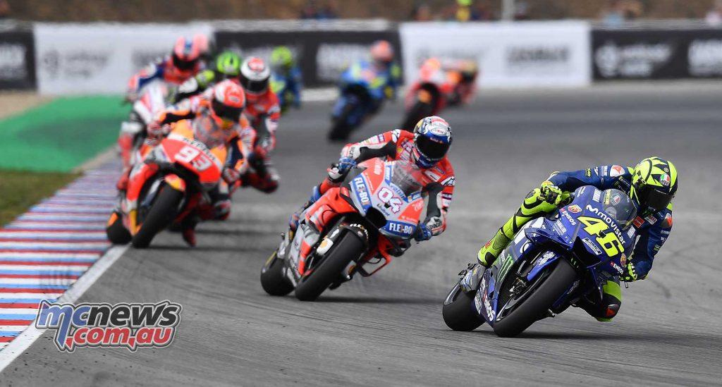 MotoGP Brno Rnd Michelin Rossi
