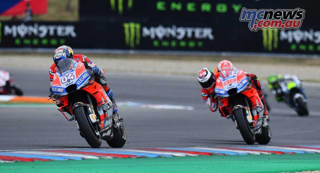 MotoGP Brno Rnd Michelin Dovi Lorenzo