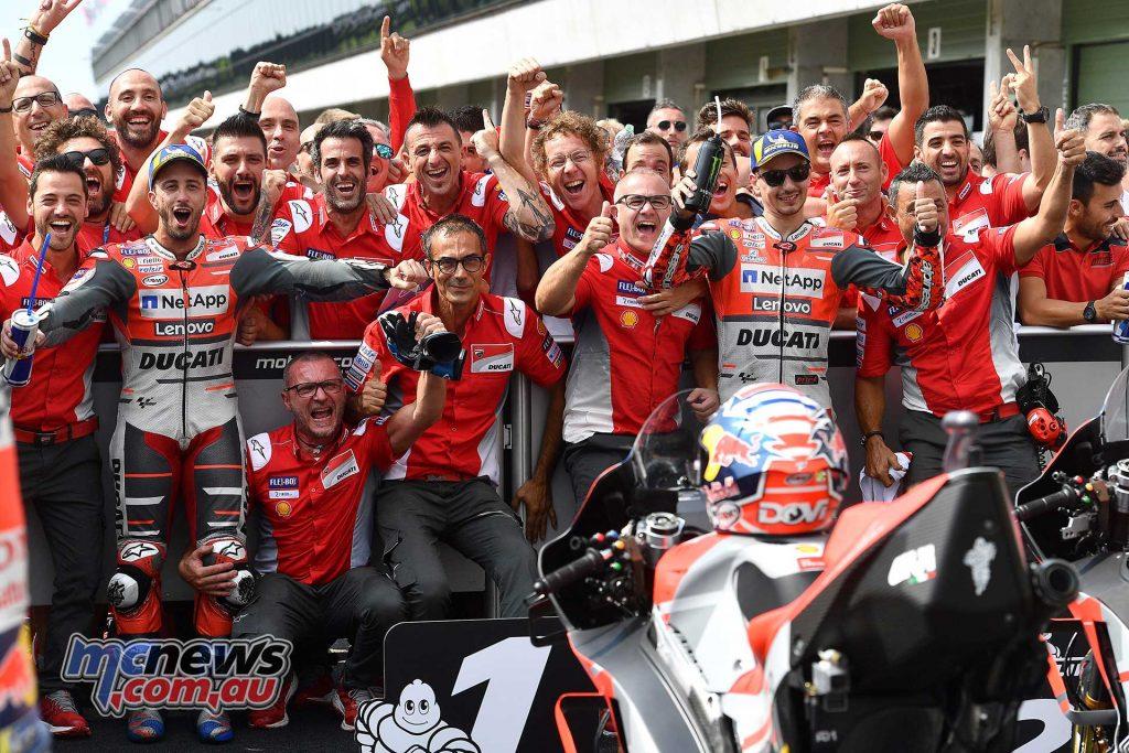 MotoGP Brno Rnd Michelin Dovi Lorenzo ParcFerme