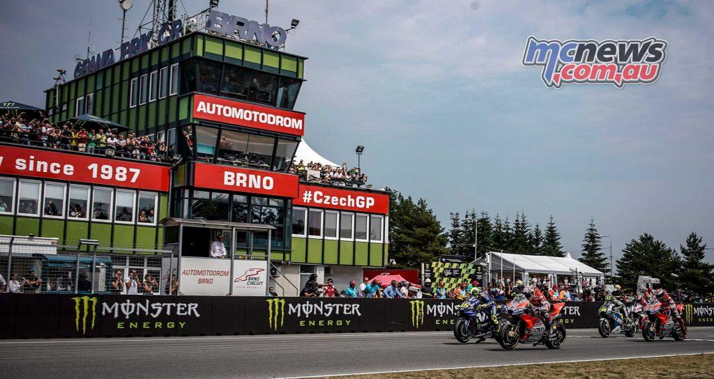 MotoGP Brno Rnd Start