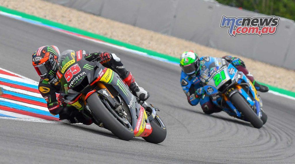 MotoGP Brno Rnd Syahrin Morbidelli