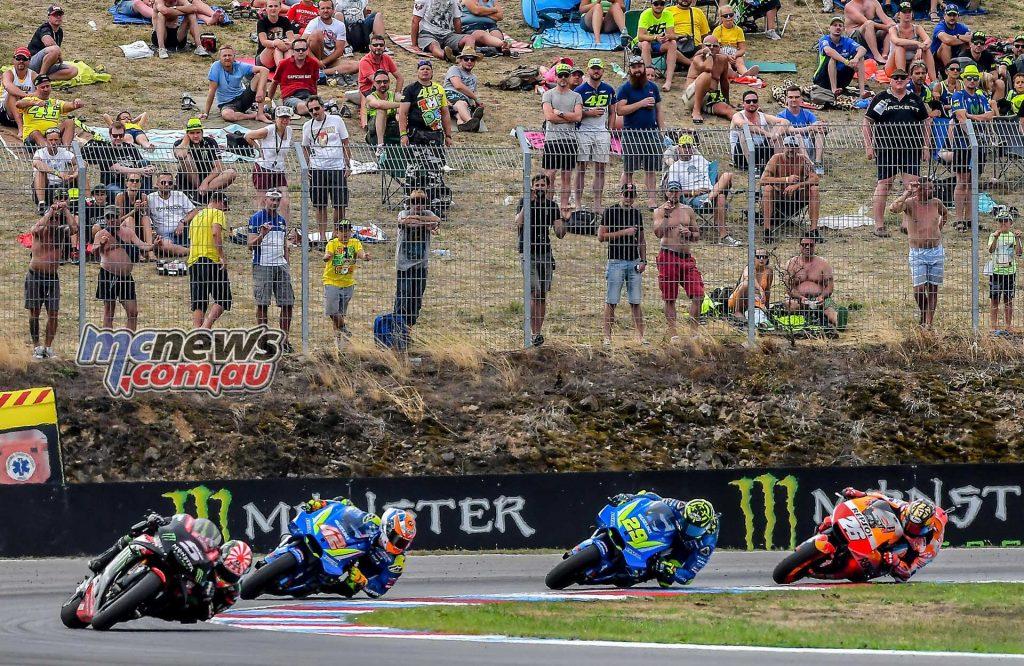 MotoGP Brno Rnd Zarco Rins Iannone Pedrosa