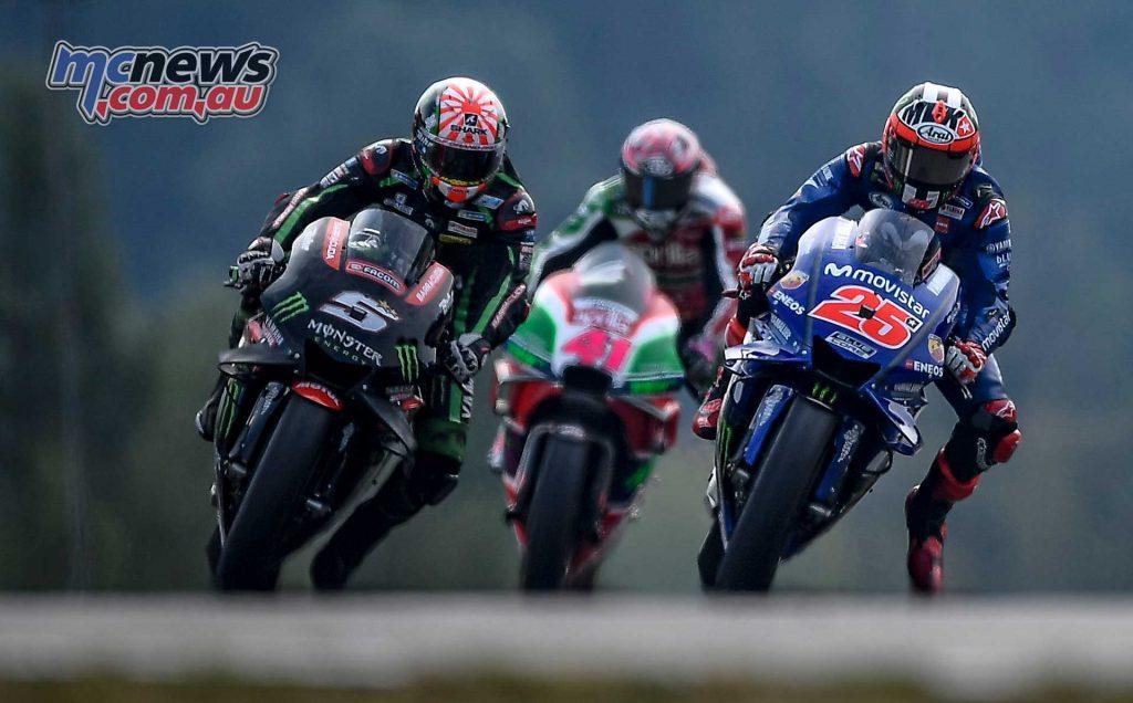 MotoGP Brno Rnd Zarco Vinales