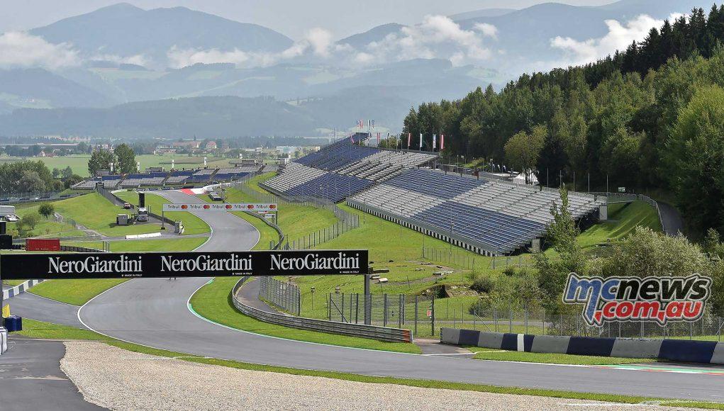 MotoGP Red Bull Ring Track