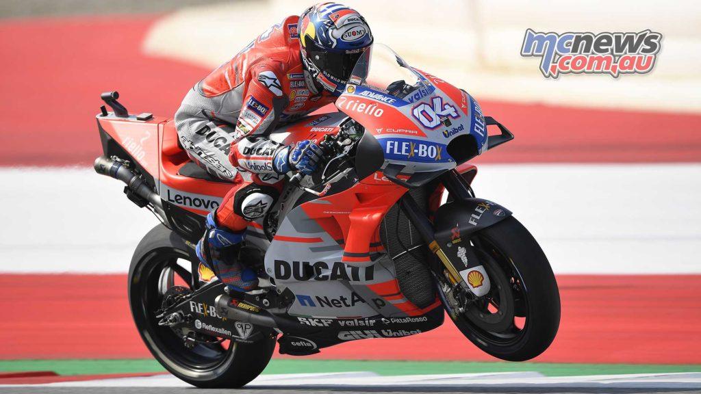 MotoGP Rnd Austria Fri Dovizioso