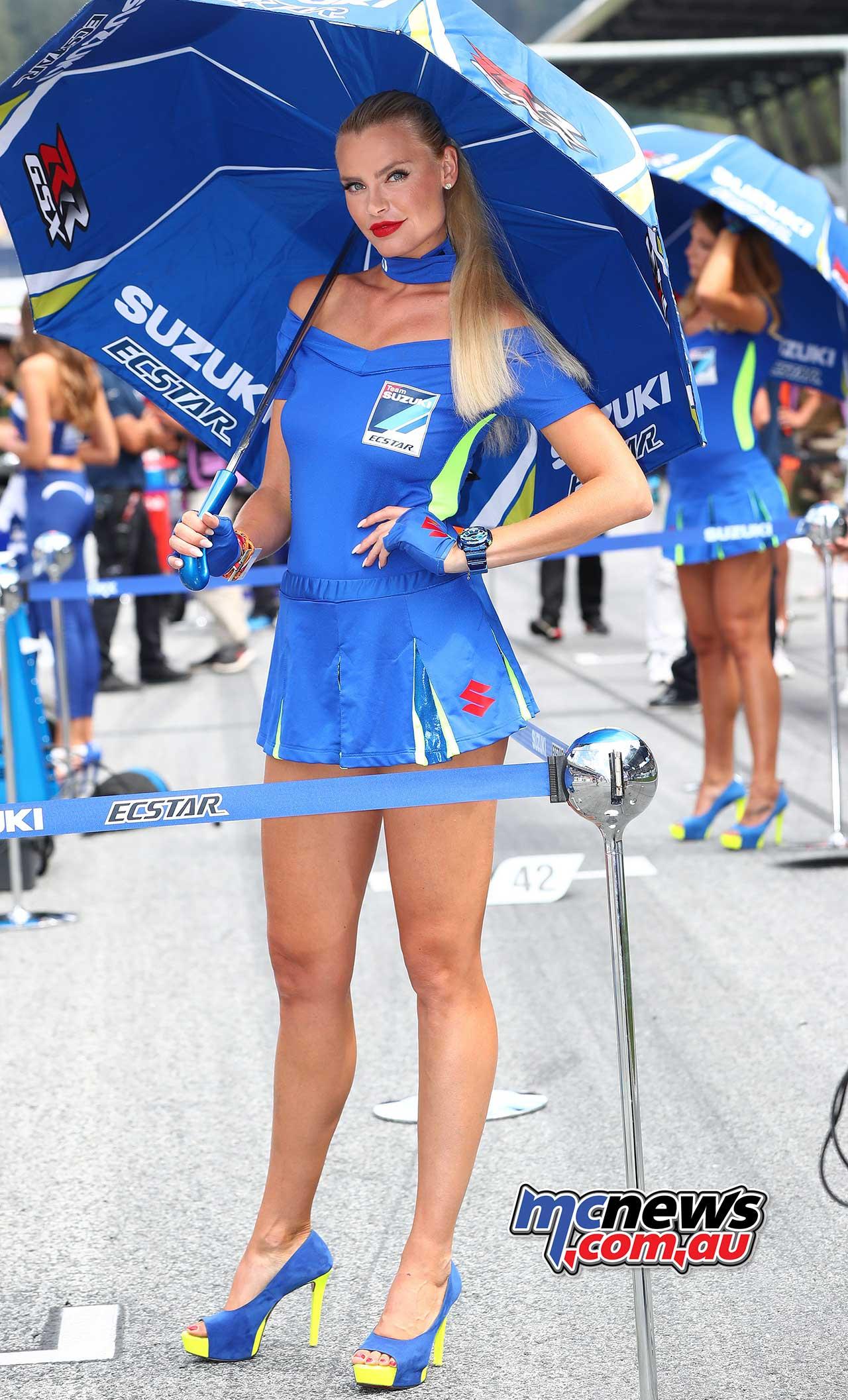 2018 Red Bull Ring MotoGP | Grid Girl Images Gallery B | MCNews.com.au