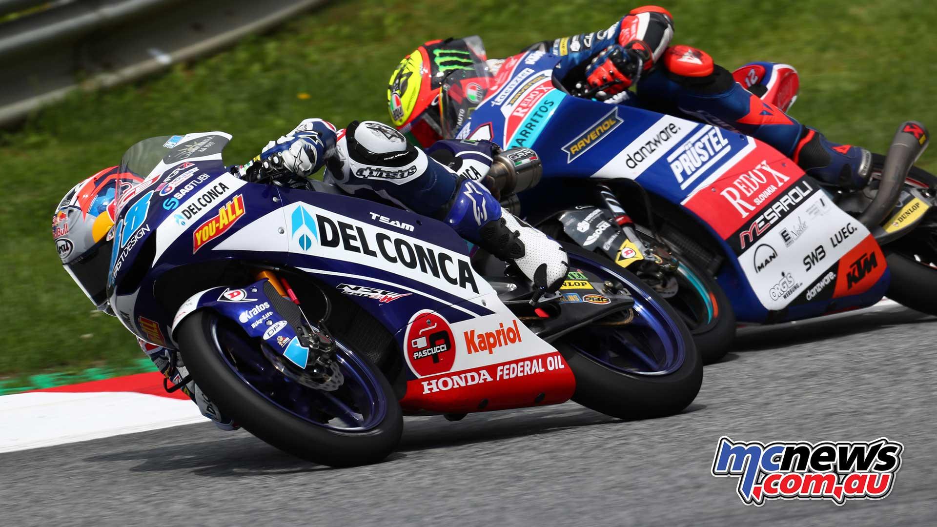 2018 Red Bull Ring MotoGP   Moto2/Moto3 Images   MCNews.com.au