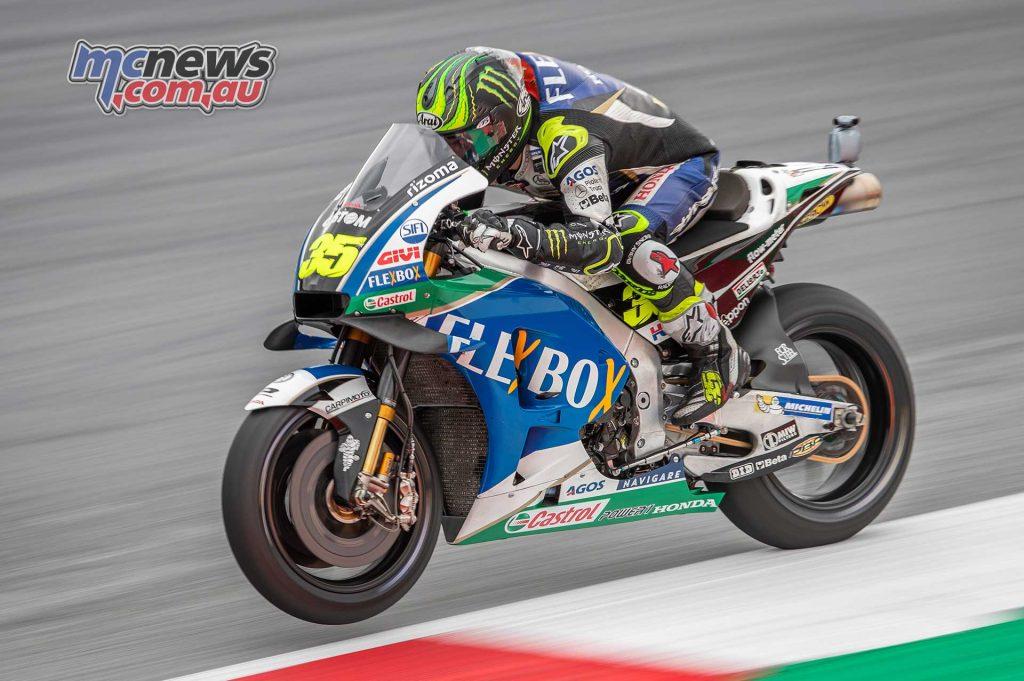 MotoGP Rnd Austria QP Crutchlow