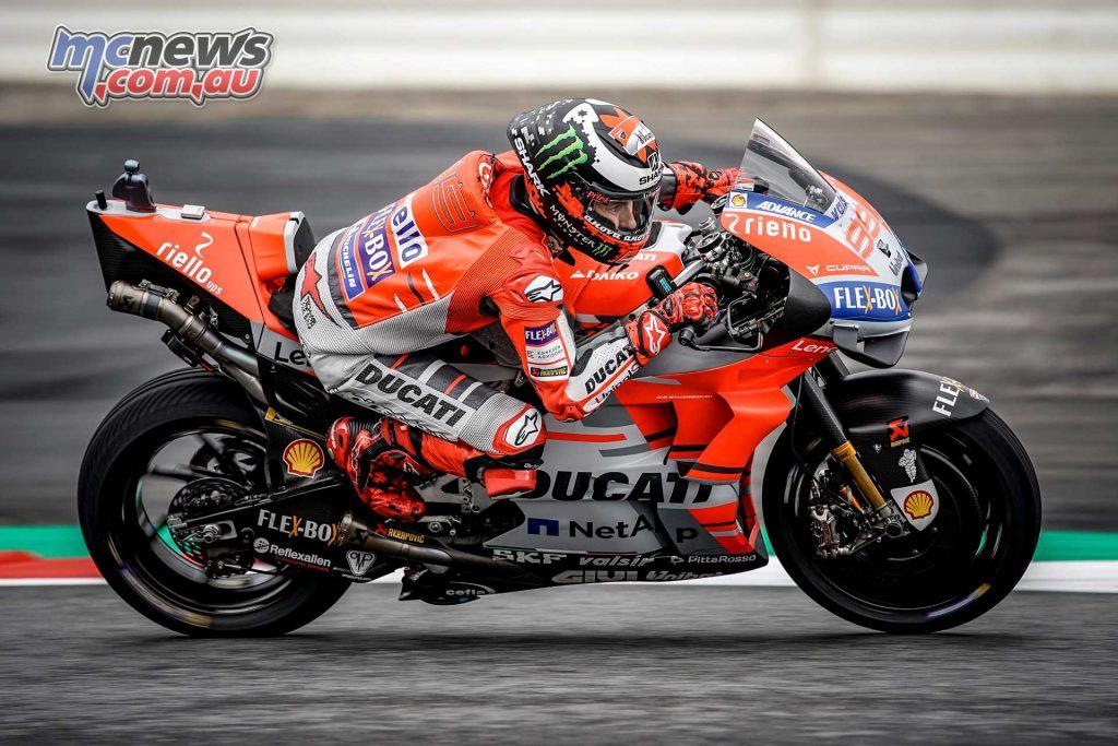 MotoGP Rnd Austria QP Lorenzo