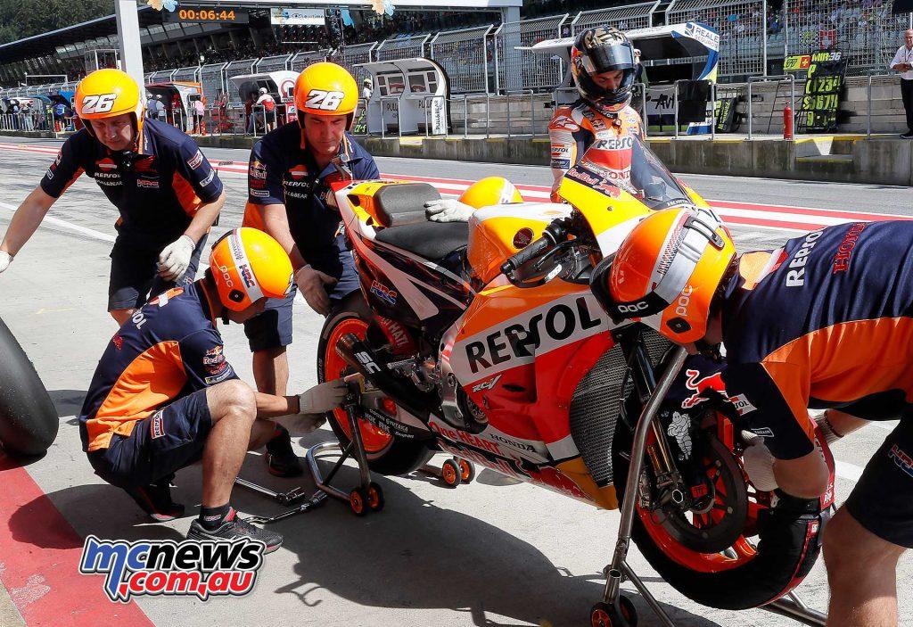 MotoGP Rnd Austria QP Pedrosa