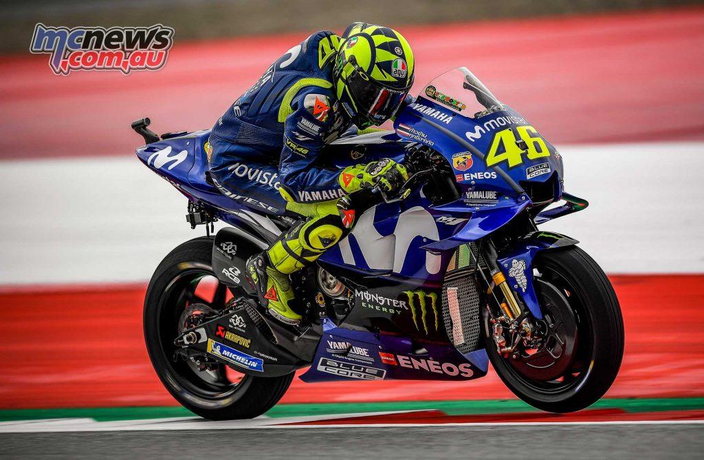 MotoGP Rnd Austria QP Rossi
