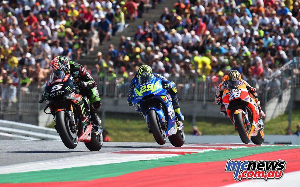 MotoGP Rnd Austria RaceMichelin Zarco