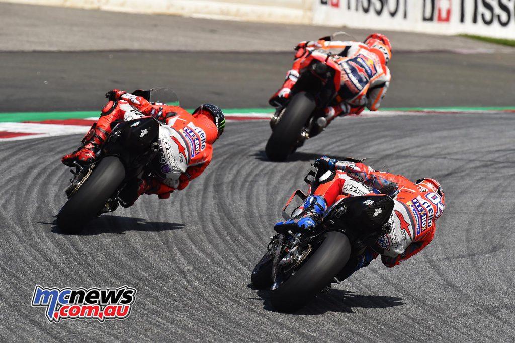 MotoGP Rnd Austria RaceMichelin Marquez Lorenzo Dovi