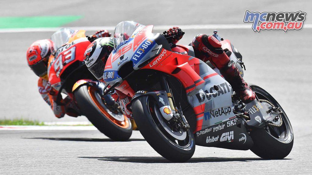 MotoGP Rnd Austria RaceMichelin Lorenzo Marquez