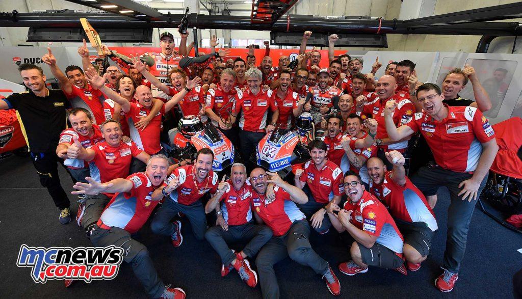 MotoGP Rnd Austria Team Ducati