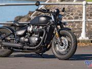 Triumph Bonneville Bobber Black F
